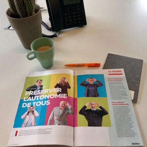 Article - Rencontre avec Christine Chautrand - Association Vivre chez moi